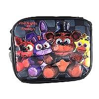 Cinco noches en Freddys Lunch Bag FNAF Snack Bag Bonnie Chica Foxie -Back Checker