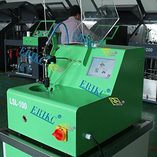 ERIKC common rail fuel injection pump test bench LSL100 and high precise more functional test bench E1024012