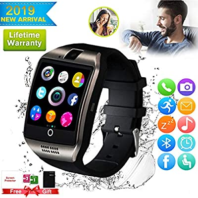 Smart Watch,Smartwatch for Android Phones, Smart Watches Touchscreen with Camera Bluetooth Watch Phone with SIM Card Slot Watch Cell Phone