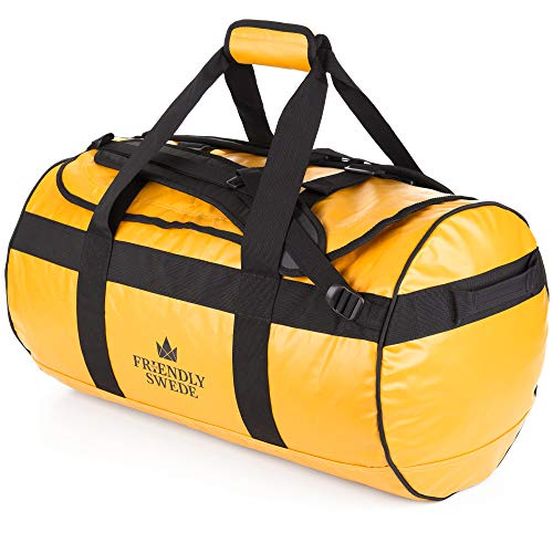 Duffel bag with Backpack Straps for Gym, Travels and Sports - SANDHAMN Duffle - by The Friendly ()