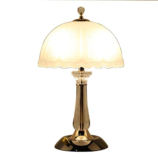 Lámpara De Mesa, Lámpara De Mesa Decorativa De Cristal De ...