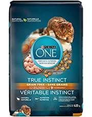Purina ONE True Instinct Grain Free Natural Dry Cat Food with Real Chicken, 6.53 kg
