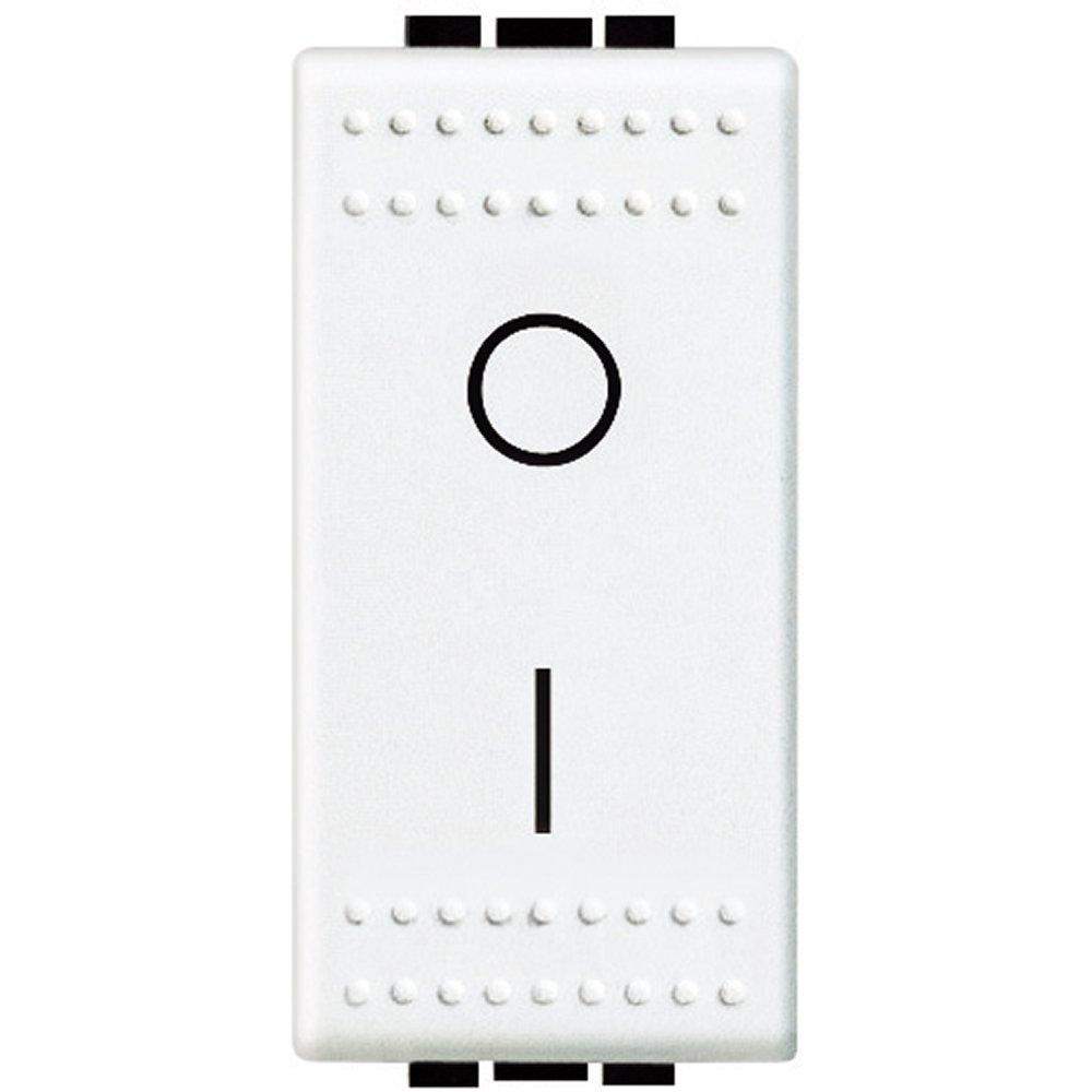 Blanco Bticino sn4002nf livinglight Interruptor Bipolar