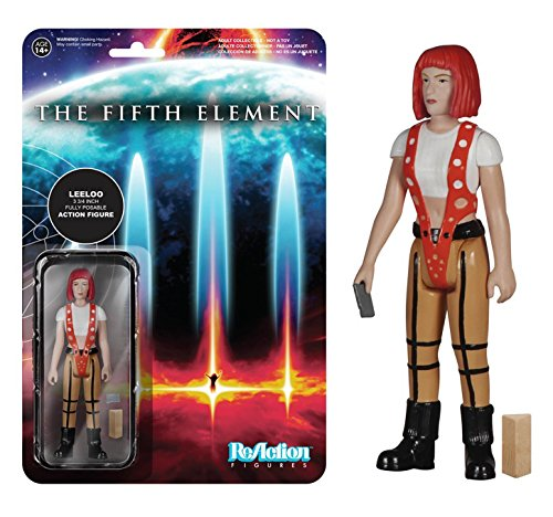 Funko Fifth Element Straps Leeloo ReAction 3 3/4-Inch Retro Action Figure