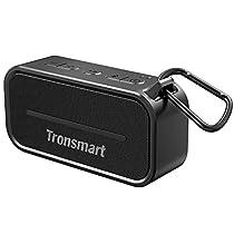 Tronsmart Bluetooth4.2 スピーカー 防水 大音量 重低音 IP67 防塵&防...