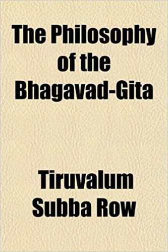 Book The Philosophy of the Bhagavad-Gita