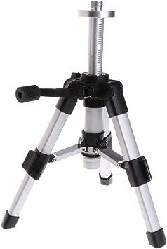 Portable Tripod 5//8inch Laser Level Mini Tripods Aluminium Adjustable 16-28cm