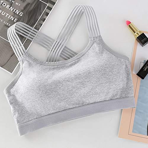 MaxFox Summer Women's Silk Forged Yoga Bra Without Steel Ring Sleepwear Sexy Beauty Back Tube Top Sports Underwear Bustier