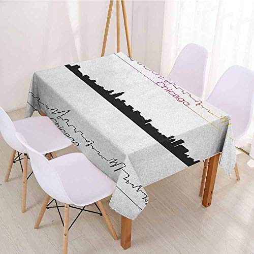 ScottDecor Christmas Tablecloth Table Cover W 70