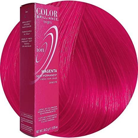 Ion Color Brilliance Brights Semi-Permanent Hair Color Magenta by ION HAIRCOLOR [Beauty] by Ion