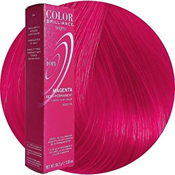 ion color brilliance brights semi permanent hair color magenta by ion haircolor beauty