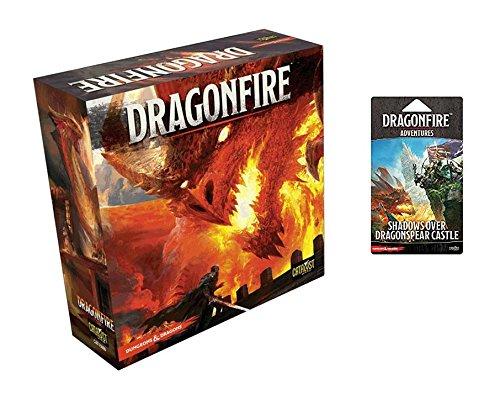 Dragonfire D & D Deckbuilding Game Bundle: Dragonfire D & D Base Set + Adventure Pack – Shadows Over Dragonspear Castle