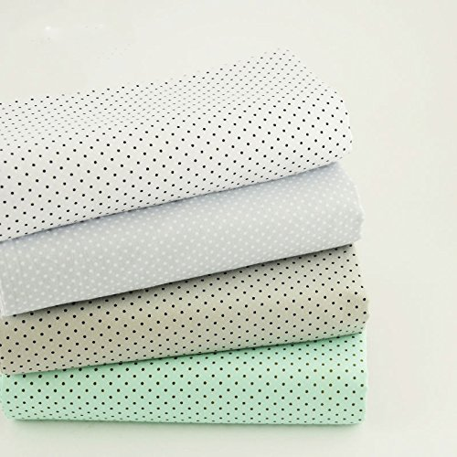 Walter Cotton Gloves (GaanZaLive36 100% Cotton Design Sewing Fat Quarter Bundles Quilting Patchwork Tilda Doll Cloth Kids Bedding Textile Fabric Scrapbooking Artcraft Project 15.7 x 19.7-Inch 4pcs (Little)