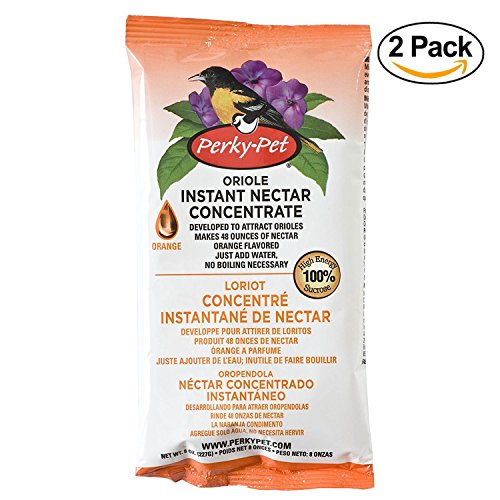 Perky-Pet 293 Instant Oriole Nectar, 8-Ounce (2 Pack)