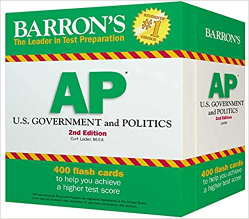 Barron's AP U S  Government and Politics: Curt Lader M A