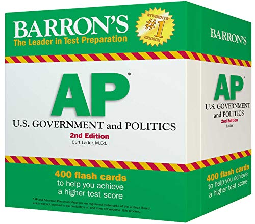 Barron's AP U.S. Government and Politics (Ring Humdinger)