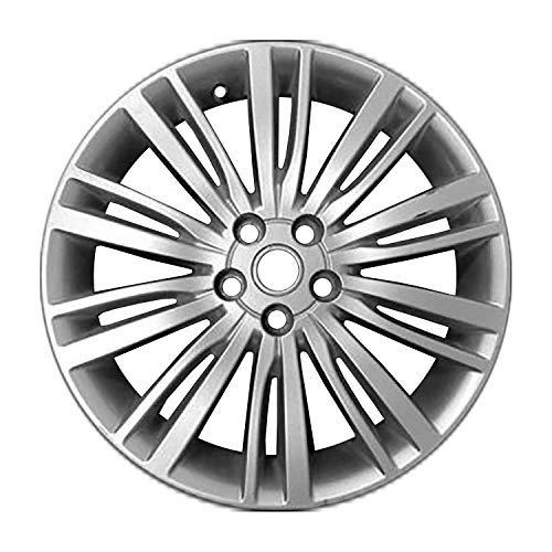 Multiple Manufactures ALY72289U20 Silver Wheel with Painted and Meets All Federal Motor Safety Standards (20 x 8.5 inches /5 x 120 mm, 47 mm Offset)