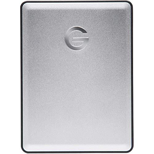 G-Technology 4TB G-DRIVE mobile USB 3.0 Portable External Hard Drive, Silver - 0G06074 (Renewed)