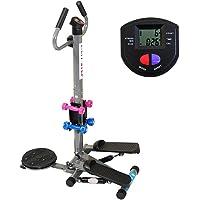 康乐佳踏步机KLJ-303多功能带扶手扭腰哑铃减肥瘦身健身器材