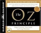 img - for The Oz Principle (Library Edition) (Smart Audio) book / textbook / text book
