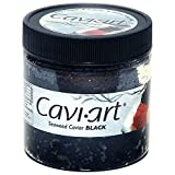Caviart Award-winning VEGAN Caviar - Black Seaweed Flavor 3.5 oz (Black Caviart)