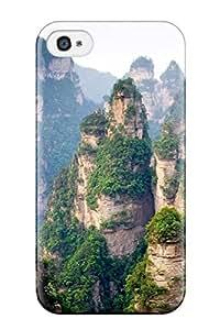 3976482K22171409 Premium Hard Case For Apple Iphone 4/4S Case Cover - Nice Design - Cliff