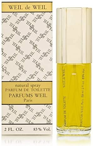 Weil de Weil by Parfums Weil for Women 2.0 oz Parfum de