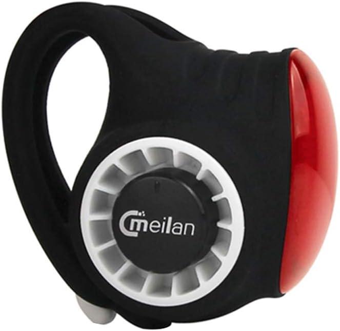 Festnight Alarme de v/élo MEILAN S3 Bell Contr/ôle antivol sans Fil Rechargeable par USB Rechargeable IPX6