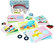 Picnmix Puzzles for Kids - Matching Game for Toddlers Educational Board Game | Preschool Learning Toys and Edu