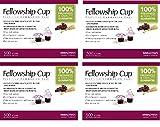 Fellowship Cup Communion Wafer & Juice - 4 X 500pk
