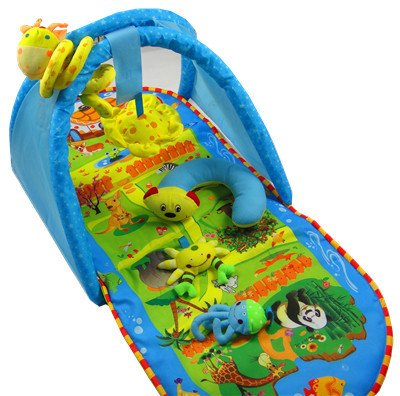 Pansupply Educational baby carpet mat baby toy soft play gym
