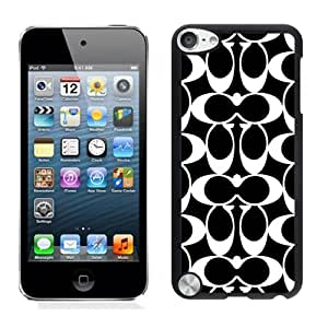 Coach 63 Black iPod Touch 5 Screen Cellphone Case Fashionable and Stylish Design