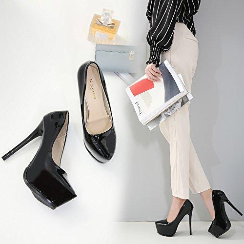 de Taiwán Zapatos luz ZHZNVX Impermeables Primavera Nueva Talón Verano Sandalias los Gruesa Alto con de Tacón roja de Finos Alto La Zapatos y 39 q0wcP4Rq