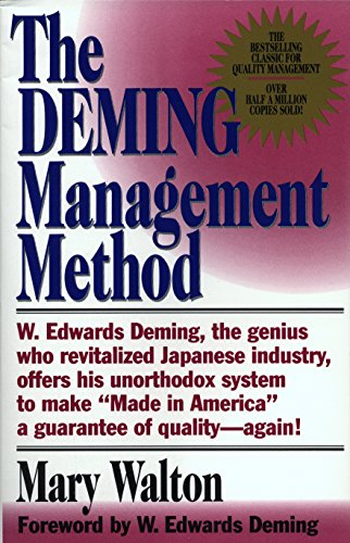 Amazon the deming management method the bestselling classic the deming management method the bestselling classic for quality management by walton fandeluxe Choice Image