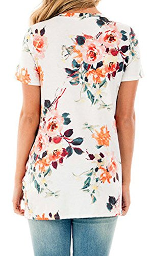 Cfanny - Camisas - Manga corta - para mujer blanco