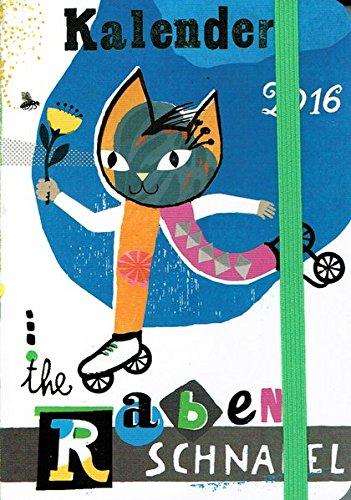 Rabenschnabel Taschenkalender 2016: Der illustrierte Taschenkalender