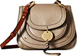 See by Chloe Women's Susie Small Saddle Bag, Motty Grey, One Size