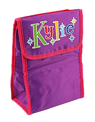 Dimension 9 Personalized Lunch Bag, Kylie, Purple/Pink