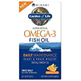 Garden of Life Minami Omega-3 60 Softgels DHA (Docosahexaenoic Acid) 228 mg(Package May Vary) by Minami * *