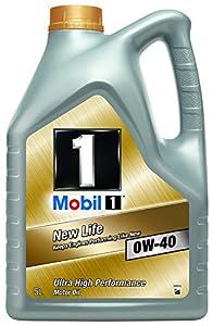 mobil 1 new life 0w 40 engine oil 5l car