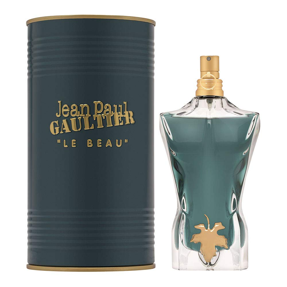 Jean Paul Gaultier Le Beau Male for Men Eau de Toilette Spray, 4.2 Ounce (New Launch 2020)