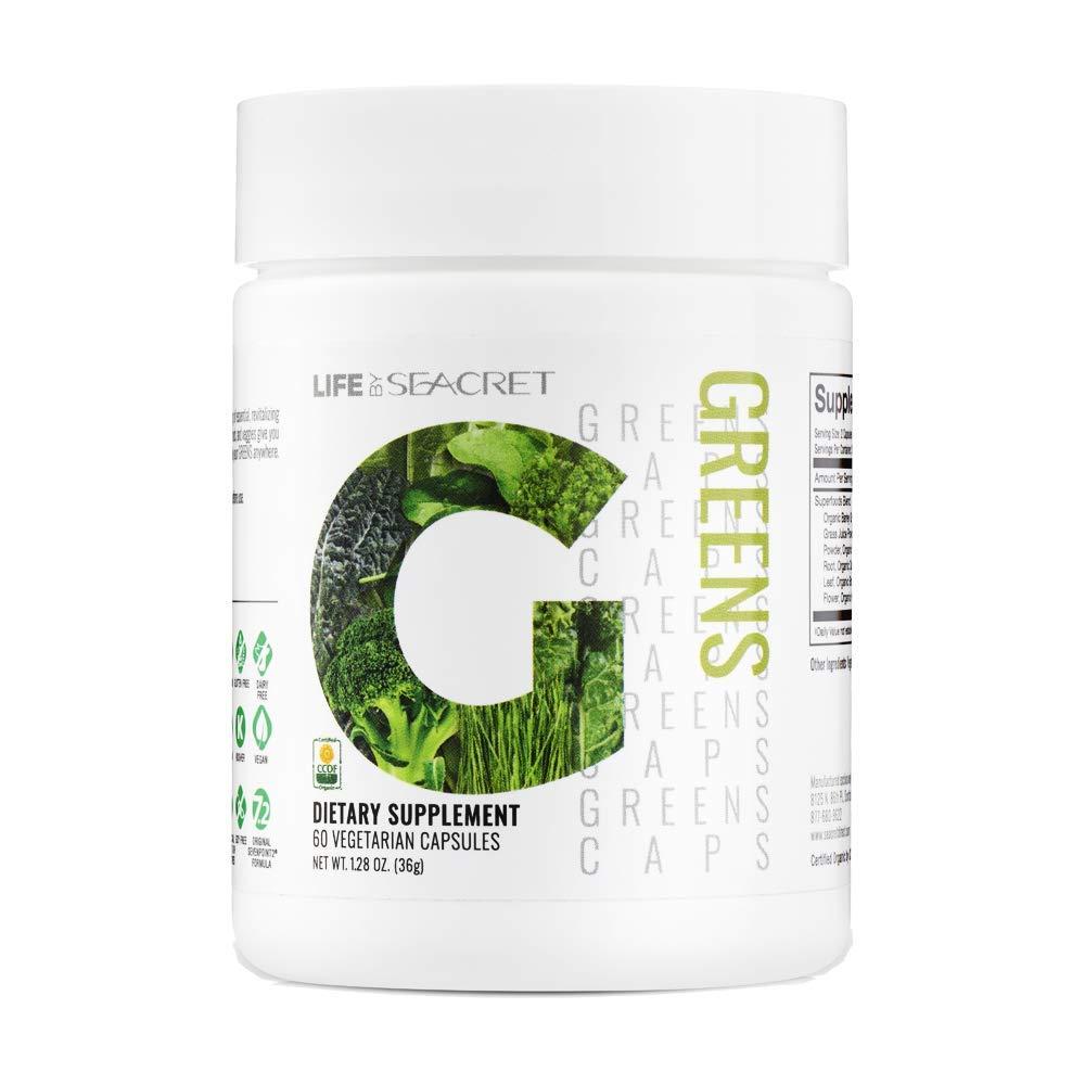 SevenPoint2 3 Bottles 7.2 Green Caps Dietary Supplement