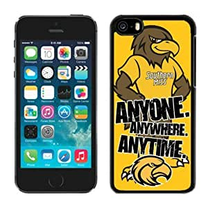Cheap Cover for Iphone 5c Ncaa Conference USA Southern Miss Golden Eagles 8 Cool Design Cell Phone Case Skin Protector