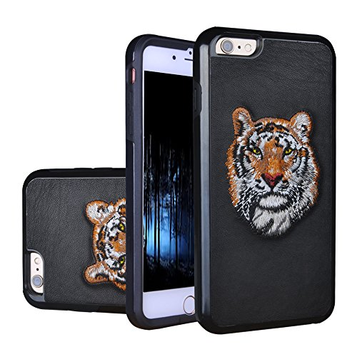Heavy Duty Case, Shockproof Hard Rugged Ultra Protective Dual Layer Protection Hybrid Full-Body, Ultimate Armor Durable [Handmade 3D Embroidery] Case …