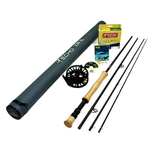 Echo Ion XL 990-4 Fly Rod Outfit (9wt, 9'0'', 4pc) by Rajeff Sports