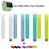 Replacement Bands for Fitbit Alta Accessories Large White Light Blue Teal Lime