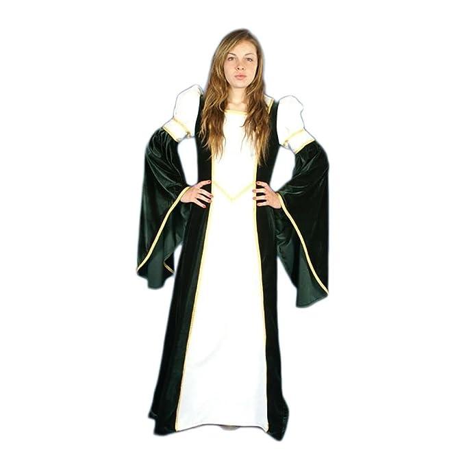 Traje medieval mujer Blanca Velvet T. M: Amazon.es: Ropa y ...