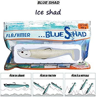 FLASHMER Señuelo Sopa Blue Shad, Ice Shad, 10 cm/25 g: Amazon.es ...