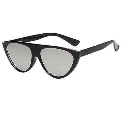 Btruely Herren_Gafas de Sol Hombre Super Cat Eye Triangle ...