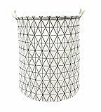 Songsongstore Large Foldable Laundry Hamper Bag Storage Bin White Deal